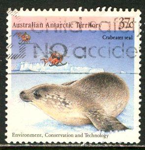 Australian Antartic Terr.; 1988: Sc. # L76c: O/Used Single Stamp