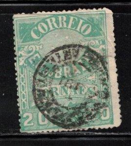 BRAZIL Scott # P24 Used - Newspaper Stamp - Stamp Has Thin