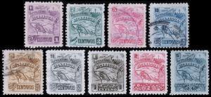 Nicaragua Scott 90-98 (1897) Mint/Used H F-VF Complete Set, CV $63.80 B