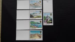Guernsey 1985 Daily Stamps Mint