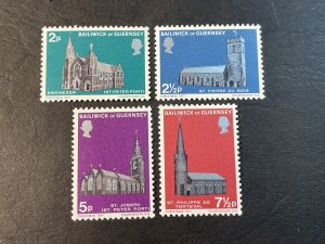 GUERNSEY # 60-63-MINT NEVER/HINGED--COMPLETE SET--1971