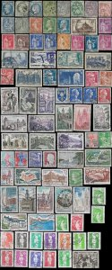 France Small Miscelleanous Lot of used stamps
