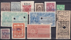 India And States Revenues  (Z3867)