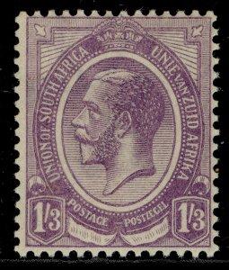 SOUTH AFRICA GV SG13, 1r 3d violet, LH MINT.