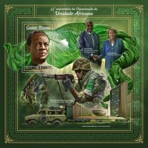 Guinea-Bissau - 2018 African Unity - Stamp Souvenir Sheet - GB18008b