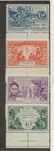 Togo 254-257 Set MH