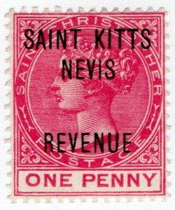 (I.B) St Kitts & Nevis Revenue : Duty 1d