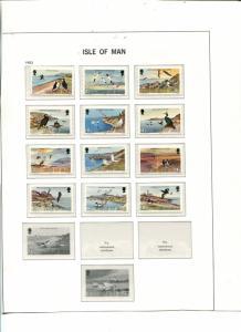 Isle of Man  nice collection  Mint NH - Lakeshore Philatelics