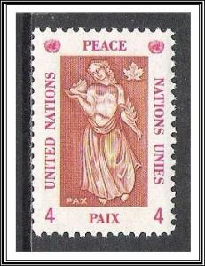 UN New York #170 Peace MNH