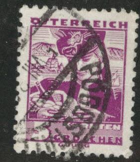 Austria Scott 357 Used Stamp From 1934 35 Set HipStamp
