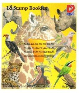 Namibia - 1997 Fauna and Flora Booklet MNH** SG SB10