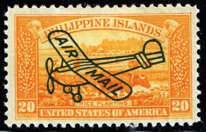 Philippines Stamp #C49 20c 1933 AIR MAIL MH/OG STAMP