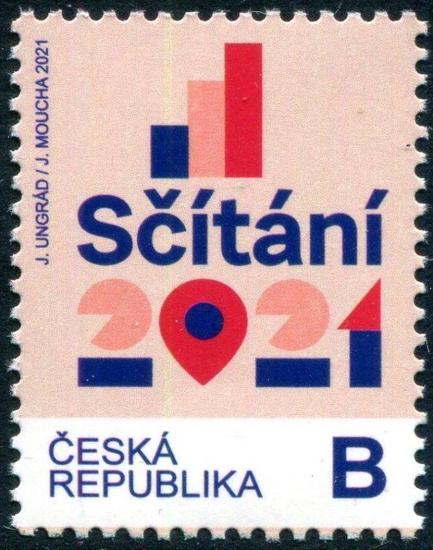 2021 Czech Republic Census (Scott NA) MNH