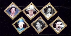 Belize 1226-31 MNH 2012 QEII 60th Anniv of reign  #2