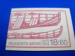 SWEDEN  -  SCOTT #1671a  COMPLETE BOOKLET   MNH   (wr)