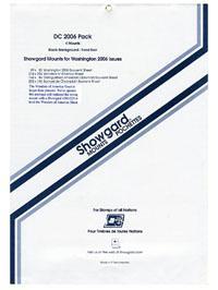 Mounts Showgard,washington 2006 (4ea. Black) (00707B)