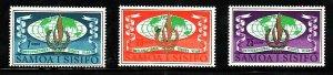 Samoa-Sc#295-7- id7-unused NH set-Human Rights-1968-