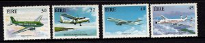 Ireland MNH 1201-4 Airplanes 1999