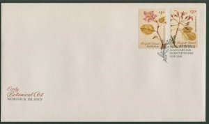 NORFOLK  ISLAND: EARLY BOTANICAL ART 2020 - FDC