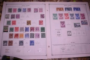 GOLD COAST - INTERESTING MINT & USED COLLECTION REMOVED FROM ALBUM PAGES - X640