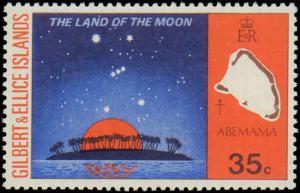 1973 Gilbert & Ellice Islands #208-211, Complete Set(4), Never Hinged