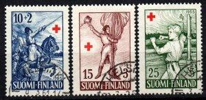 Finland #B132-4  F-VF Used CV $6.00  (X606)