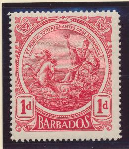 Barbados Stamp Scott #129, Mint Hinged - Free U.S. Shipping, Free Worldwide S...