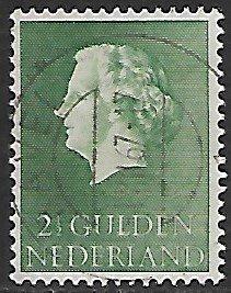 Netherlands # 362 - Queen Juliana 2,50 Gld - used....(P5)