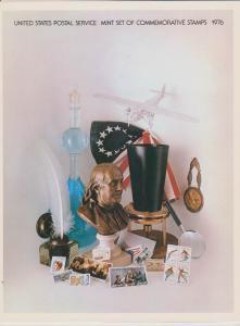 USA -1976 SOUVENIR MINT SET-MINI ALBUM LOT#US264
