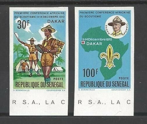 1970 Senegal Boy Scouts First African Conference Imperf