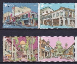 Singapore 2018 Areas of Historical Significance  (MNH)  - Architecture