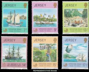 Jersey Scott 236-241 Mint never hinged.