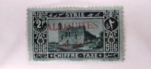 Alaouites #J8 mint hinged e21.4 13130