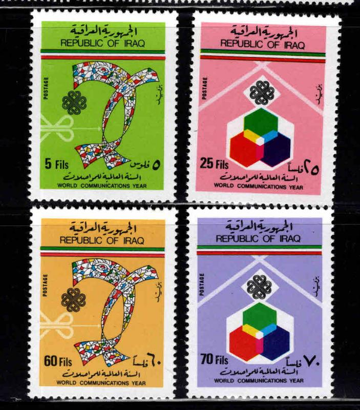 IRAQ Scott 1113-1117 MNH** Communications set