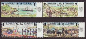 1997 Alderney Set U/Mint SGA102/A109