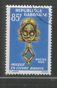 GABON, 192, USED, BAKOTA LEATHER MASK