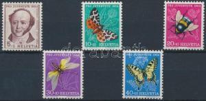 Switzerland stamp Pro Juventute set 1954 MNH Mi 602-606 WS184128
