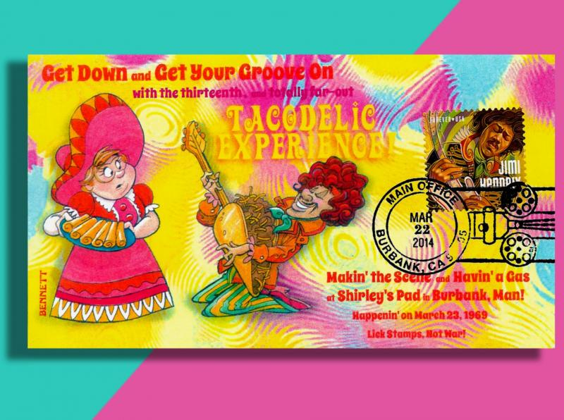 Jimi Hendrix and the TacoDelic Experience Will Blow Your Mind! Far Out, Man!!