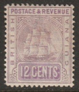 British Guiana 1889 Sc 141 MH*