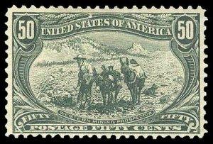 U.S. TRANS-MISS. ISSUE 291  Mint (ID # 89709)