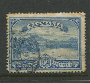 Tasmnia  #92  FU  1899 Single 5d Stamp