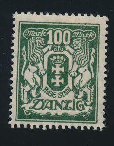 Danzig Stamp Scott #114, Mint Hinged - Free U.S. Shipping, Free Worldwide Shi...