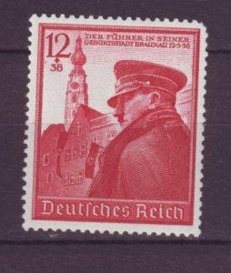 J21698 Jlstamps 1939 germany set of 1 mnh #b137 hitler