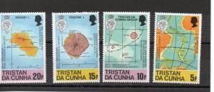 Tristan da Cunha 283-286 MNH