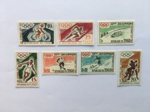 TOGO 1960 ROME SUMMER & WINTER OLYMPICS GAMES MNH