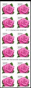 3052Ef Mint,OG,NH... Booklet Pane ... SCV $15.00