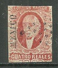 1867 Mexico 45   4r Miguel Hidalgo y Costilla used