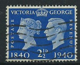 GB GVI  SG 483  Fine Used