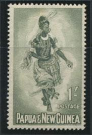 PNG - SG 30    Scott 158  Mint Hinged - SPECIAL
