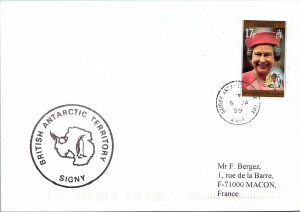 BRITISH ANTARCTIC TERRITORY ARCTIC ANTARCTIC POLAR CANCEL / CACHET #103